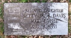 Betty Jack Davis - Country Music Singer. This Corbin, Kentucky, native met Mary Francis Penick (also known as Skeeter Davis) in high school and together they developed a famous musical duo whose success was cut short by a tragic automobile accident.
