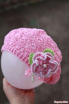 Crochet hat ☺Free Crochet Pattern ☺