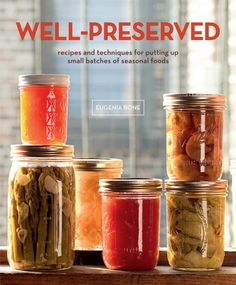 This is a serious subject. Preserving food can be either a fantastic hobby or even a full occupation.