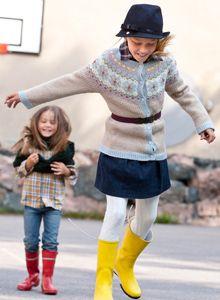 Neuleohje: Villatakki tytölle – Kotiliesi