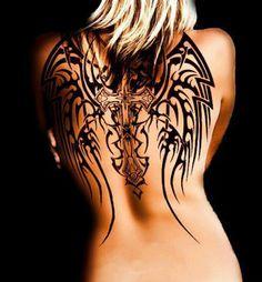 Love wing tattoos