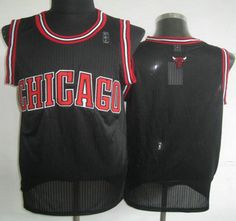 f0e2bd62d0cae Chicago Bulls Jersey Blank Black Revolution 30 Authentic Jerseys