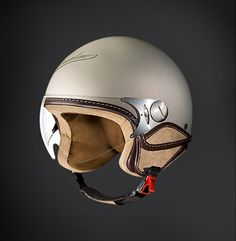 Borsalino Helmets And Hats: The Most Stylish Way To Protect your Noggin Scooter Helmet, Cafe Racer Helmet, Kick Scooter, Bicycle Helmet, Motorcycle Helmets For Sale, Motorcycle Equipment, Motorcycle Gear, Bike Helmets, Riding Gear