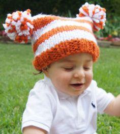 Longhorn Orange and White Jester Hat