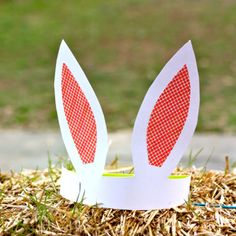 bunny hat craft   ... bunny ears! Perfect for Egg hunting and bunny hopping fun! A fun craft
