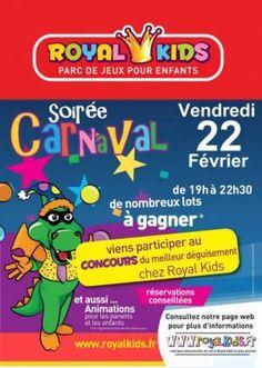 "Karneval feiern im Kinder- Indoor Spielpark  ""Royal Kids Toulouse"""