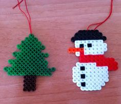 manualidades navideñas con hama