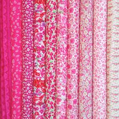 Another lovely fat quarter selection from the new Liberty of London collection.