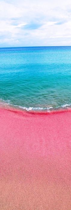 Pink Sand Beach, Bahamas This is on the must do with J!!!!