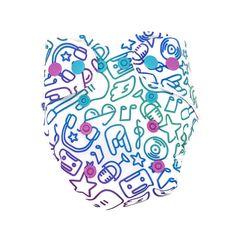 Bleie fra ca 3,5-8 kg avhengig av barnets alder og kroppsbygning. Polyester fane på magen fra innsiden for å beskytte klærne fra å bli våte, myke og elastiske strikk rundt bena og ryggen sikrer mot lekasje. Bleie har en knapperad og praktisk knappesystem for justering av størrelse som gjør at det er enkelt å tilpasse bleien helt perfekt. Dj Panda, Barn, Calligraphy, Converted Barn, Lettering, Calligraphy Art, Barns, Hand Drawn Typography, Shed