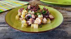 Polpo e patate in padella semplice e gustoso secondo piatto