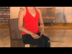 Ab Workouts You Can Do at Your Desk - YouTube