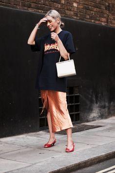 LELLAVICTORIA: #streetstyle #thrasher #outfit #slipdress