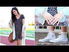 Perfect Back to School Hair, Makeup & Outfit! Visit Bethany Mota's channel on YouTube!
