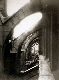 Eugene Atget photo from a series cataloging Paris,