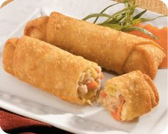 Schwan's traditional Asian-flavored crunchy egg rolls are stuffed with richly-seasoned pork, cabbage, bean sprouts, and carrots.