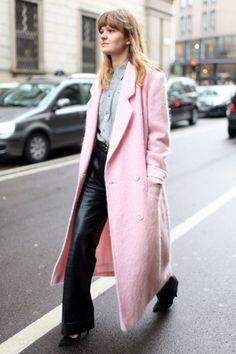 Diller-yourself Stil- und Imageberatung Pink overcoat style.