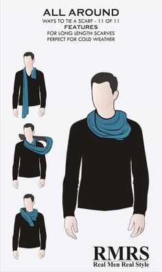 11-11 Different Ways to Tie a Scarf