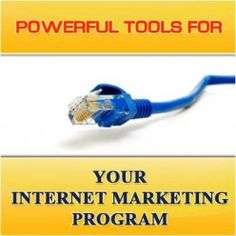 Powerful Tools For Your Internet Marketing Program  http://mentalitch.com/powerful-tools-for-your-internet-marketing-program/