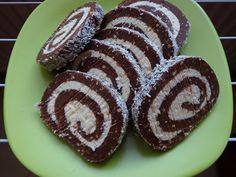 Rumos-kókuszos keksztekercs Baking Tips, Muffin, Cookies, Breakfast, Cake, Christmas, Food, Tea, Kuchen