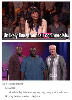 Whose Line Is It Anyway.Brillian Show Lol - maallure Stupid Funny, Funny Cute, The Funny, Funny Stuff, Funny Things, Random Stuff, Funniest Things, Freaking Hilarious, Random Humor