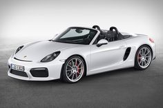 Designed specifically for open-air driving, the Porsche Boxster Spyder does come with a top. But we're not sure you'll ever use it. Powered by a 3.8L six-cylinder engine, it boasts an output 375hp, with a 0-60 time of 4.3 seconds...