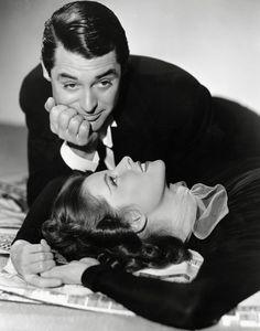 Cary Grant & Katharine Hepburn.