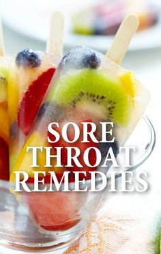 Dr Oz shared his remedies for soothing a sore throat that may be different than what you were told before. http://www.recapo.com/dr-oz/dr-oz-natural-remedies/dr-oz-sore-throat-remedies-licorice-root-extract-fruit-pops/