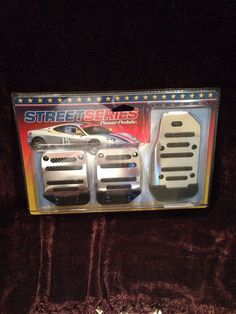 Street Series Power Pedals 3 PC Manual Shift Cars Gas Brake and Shift #StreetSeries