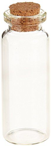 Firefly Imports Mini Glass Tube Corked Jars Candy Bottle 212Inch Clear 12Pack * Click image for more details. This Amazon pins is an affiliate link to Amazon.