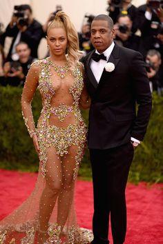 Pin for Later: Beyoncé a Laissé Très (Très) Peu de Place à Notre Imagination Lors du Met Gala