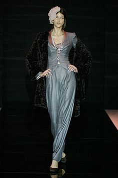 Armani Privé Fall 2005 Couture - Collection - Gallery - Look 1 - Style.com