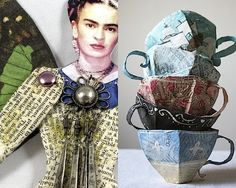 CREATIVE LIVING from a Scandinavian Perspective: DIY: Things to make from paper. PappersPyssel