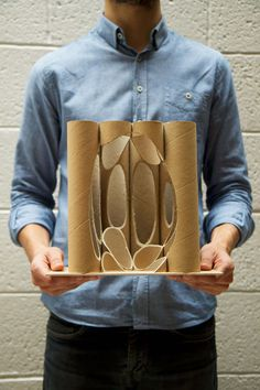 Diy Crafts - A multi-award winning British design and architecture studio - buildings, spaces, master-plans, objects and infrastructure. Cardboard Sculpture, Cardboard Furniture, Cardboard Crafts, Cardboard Tubes, Monumental Architecture, Architecture Design, Maquette Architecture, Architecture Drawing Art, Paper Architecture