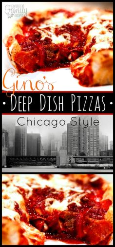 This Gino's Deep Dish Chicago Style Pizza Copycat is so incredibly good. It's loaded with melty cheese on bottom, then topped with meat and marinara sauce. Pizza Recipes, Sauce Recipes, Cooking Recipes, Copykat Recipes, Dinner Recipes, Chicago Style Pizza, Pizza Style, Deep Dish Pizza Recipe, Good Pizza