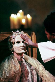 ANTONY AND CLEOPATRA (1997) Vanessa Redgrave for  London's Moving Theatre