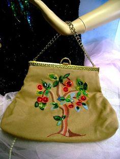 Vintage Purse, Embroidery