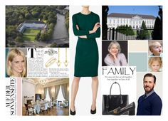 """""""Having Sunday lunch together with Rick's family at Schloss Bellevue"""" by lindahohenzollern ❤ liked on Polyvore featuring Joie, Hallhuber, Prada, Gucci and Thomas Sabo"""