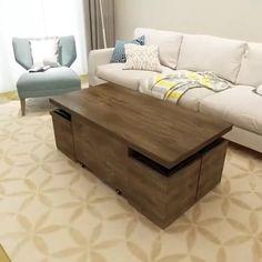 Folding Furniture, Multifunctional Furniture, Smart Furniture, Space Saving Furniture, Home Decor Furniture, Diy Home Decor, Furniture Ideas, Multipurpose Furniture, Farmhouse Furniture