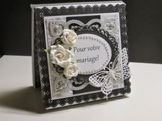 Les Boitatou Creations, Card Making, Butterfly, Big Shot, Black And White, Frame, Catalog, Flowers, Cards