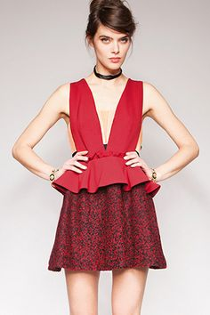 Cocktail dress - funky with color