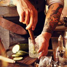 Cocktail Muddler by Aheirloom
