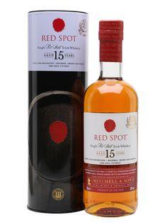 Red Spot 15 Year Old Irish Whiskey : The Whisky Exchange Whiskey Distillery, Whiskey Decanter, Whiskey Glasses, Whiskey Bottle, Scotch Whiskey, Bourbon Whiskey, Whiskey Trail, Whiskey Cocktails, Bourbon Drinks