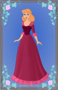Cinderella as Belle3 by Heroine-FA-C-n-Xover.deviantart.com on @deviantART
