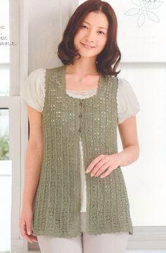Etsy crochet vest pattern