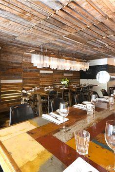 Edna Restaurant, Canada designed by Breakhouse