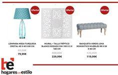 #ofertas del #miércoles en hogaresconestilo.com! #felizmiércoles! #home #hogar #estilo #deco #decoración