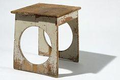 Josef Hoffmann: stool, 1898