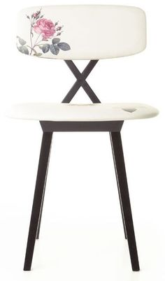 contemporary upholstered chair 5 O'CLOCK by Nika Zupanc moooi