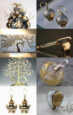 Gold and silver accents --Pinned with TreasuryPin.com